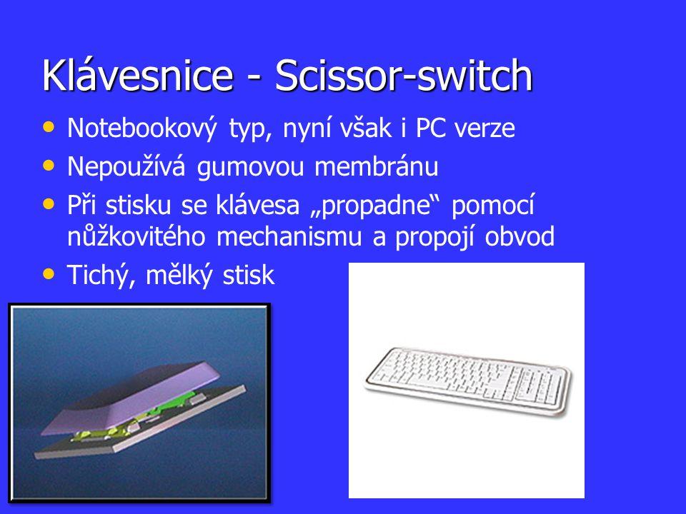 Klávesnice - Scissor-switch