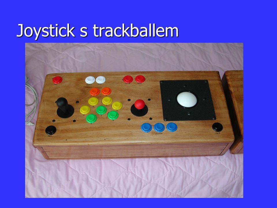 Joystick s trackballem