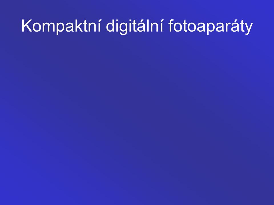 Kompaktní digitální fotoaparáty