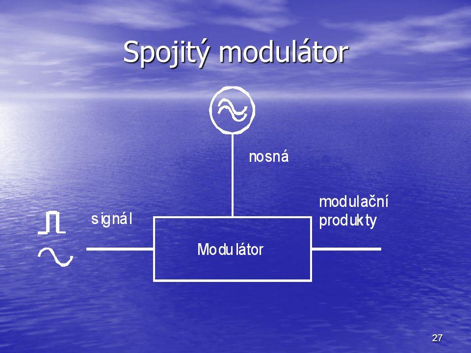 Spojitý modulátor