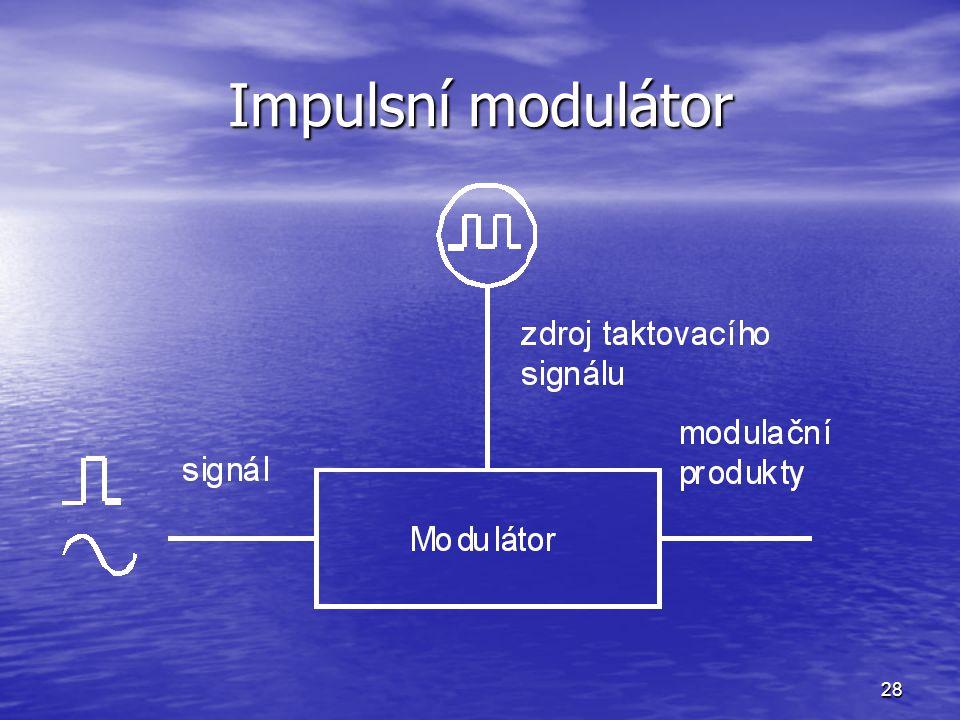 Impulsní modulátor