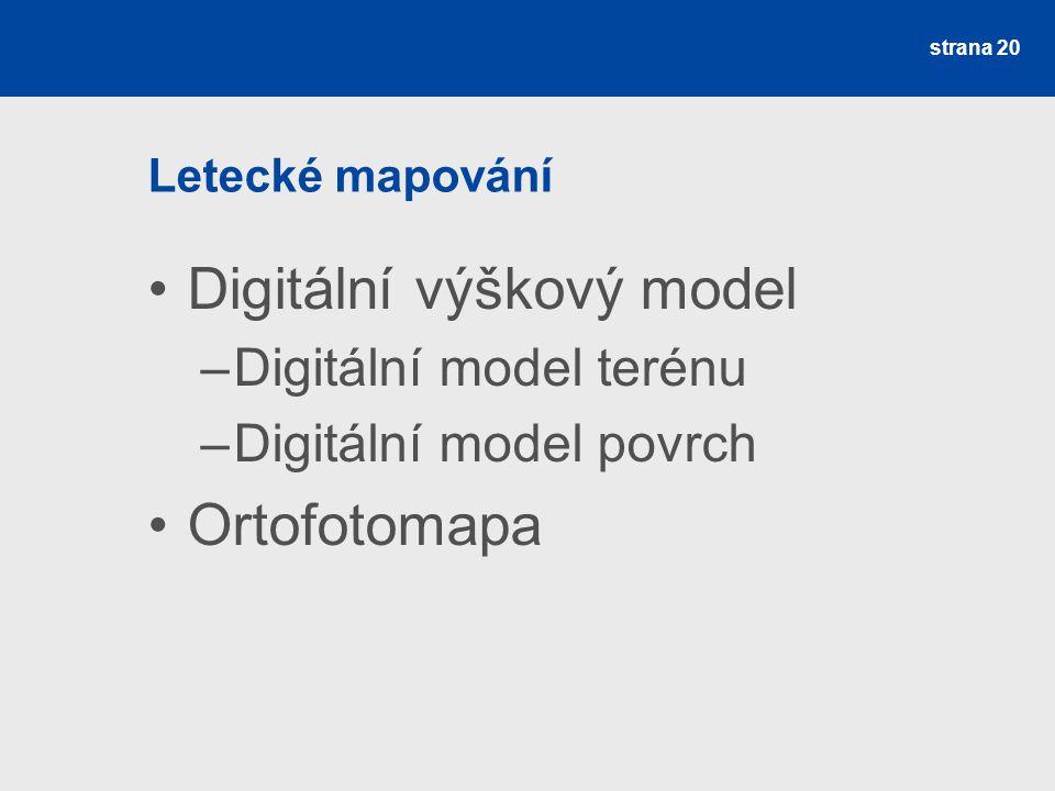 Digitální výškový model