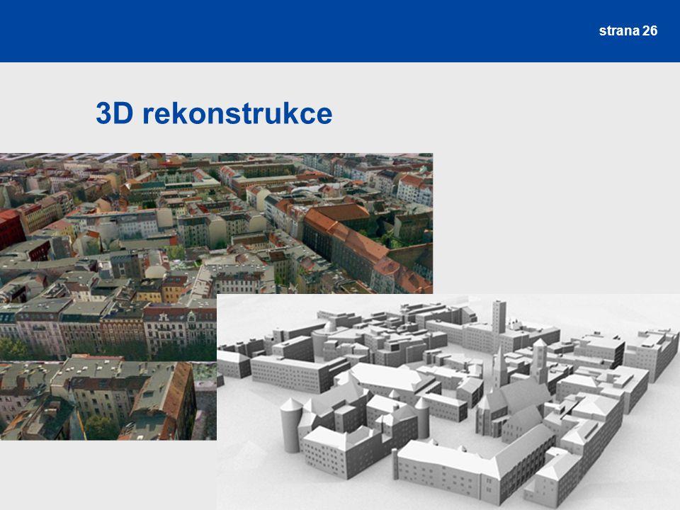 3D rekonstrukce