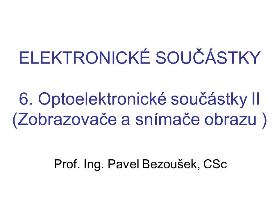 Prof. Ing. Pavel Bezoušek, CSc