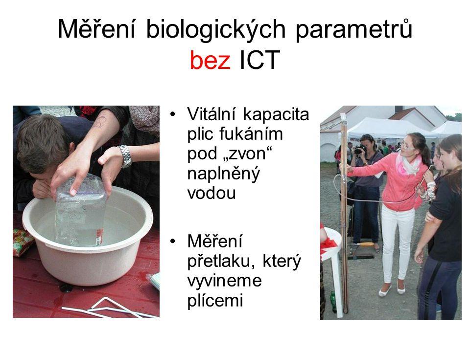 Měření biologických parametrů bez ICT