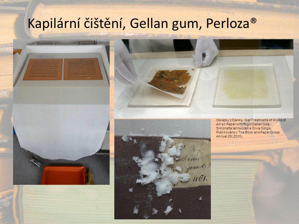 Kapilární čištění, Gellan gum, Perloza®