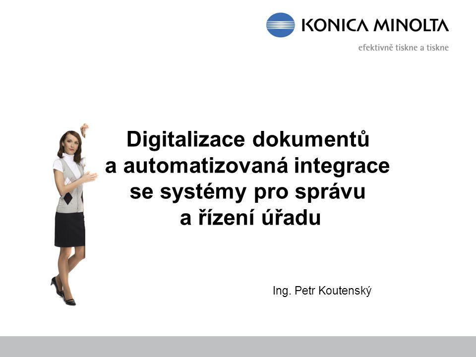 Digitalizace dokumentů a automatizovaná integrace