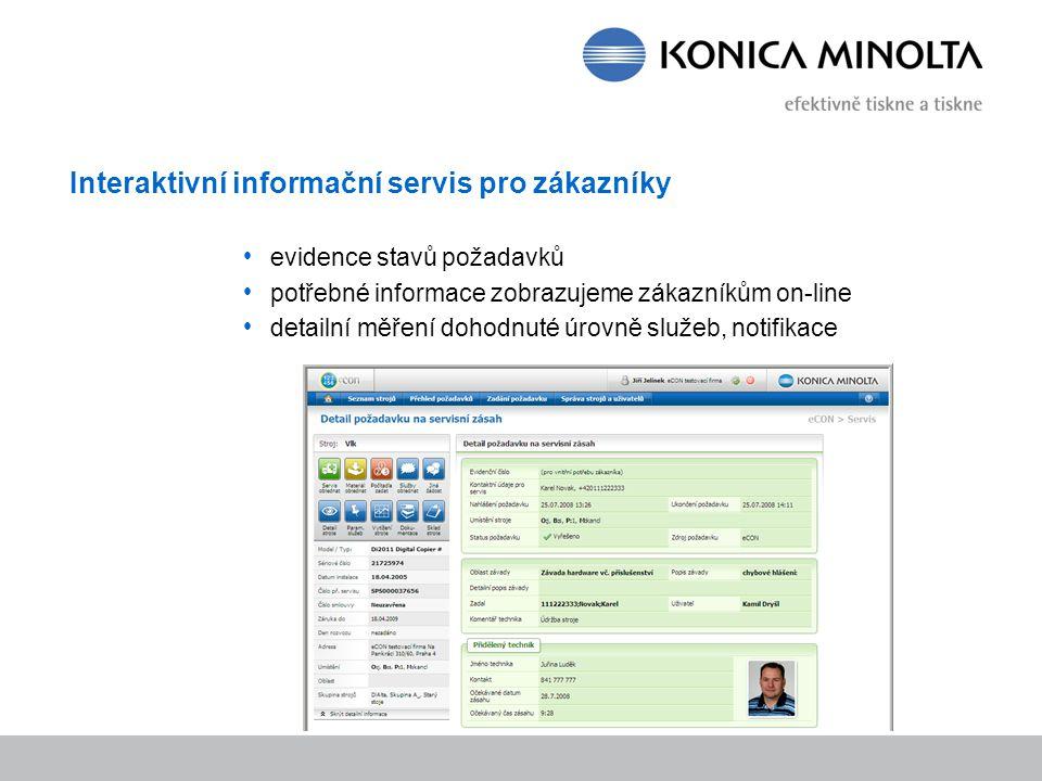 Interaktivní informační servis pro zákazníky