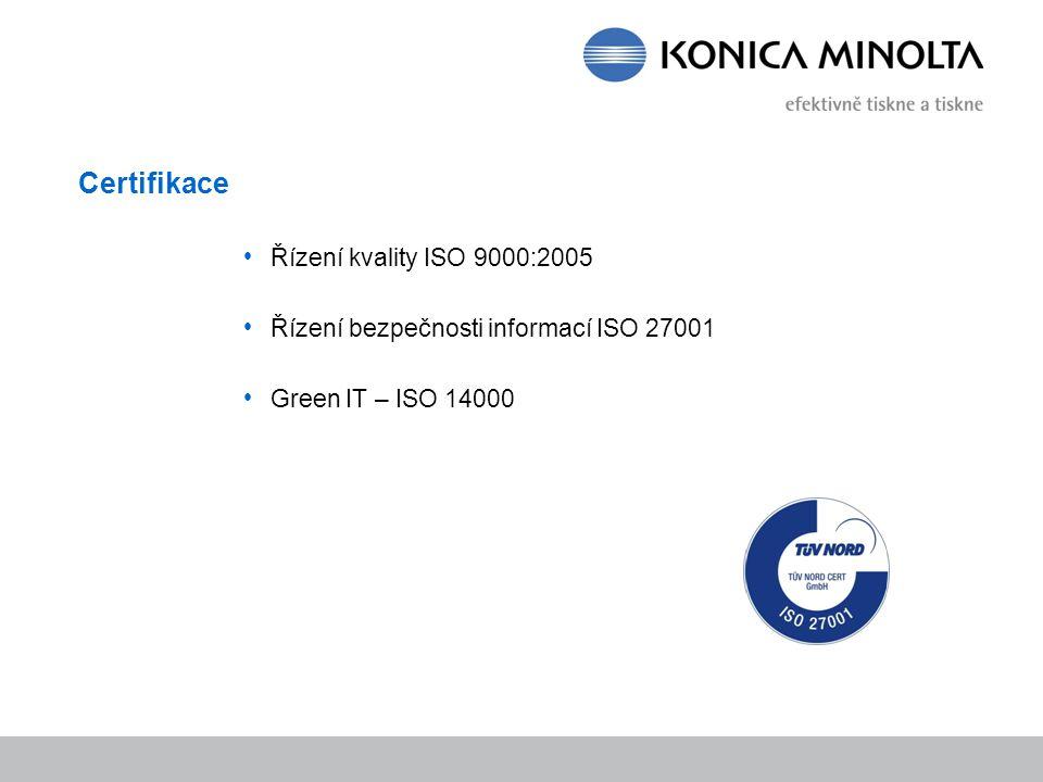 Certifikace Řízení kvality ISO 9000:2005