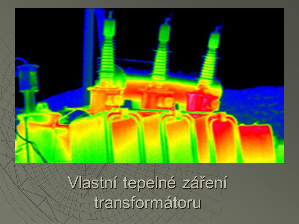 Vlastní tepelné záření transformátoru