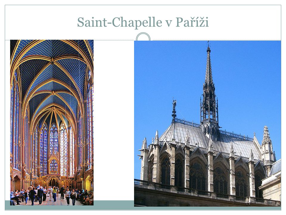 Saint-Chapelle v Paříži
