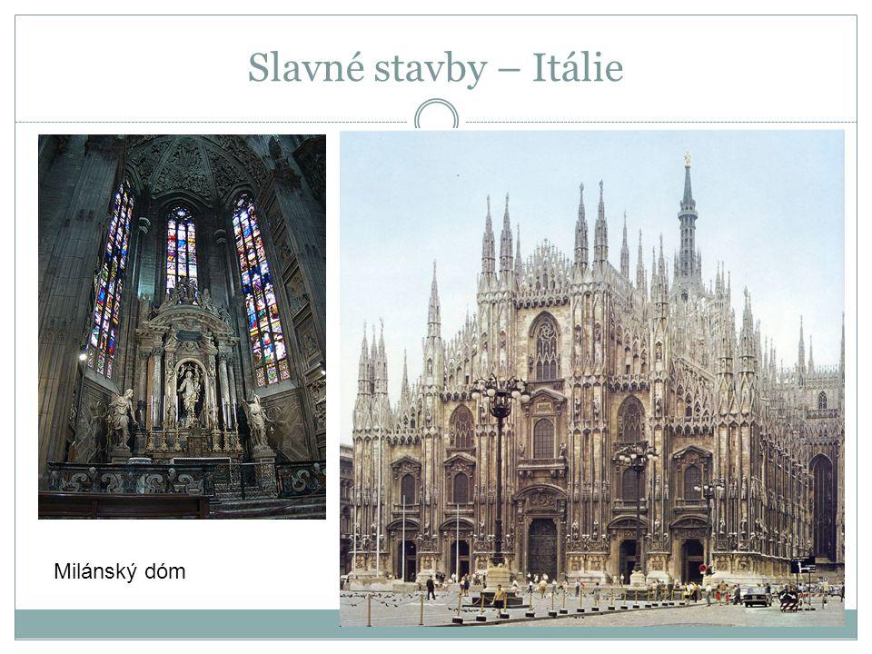 Slavné stavby – Itálie Milánský dóm