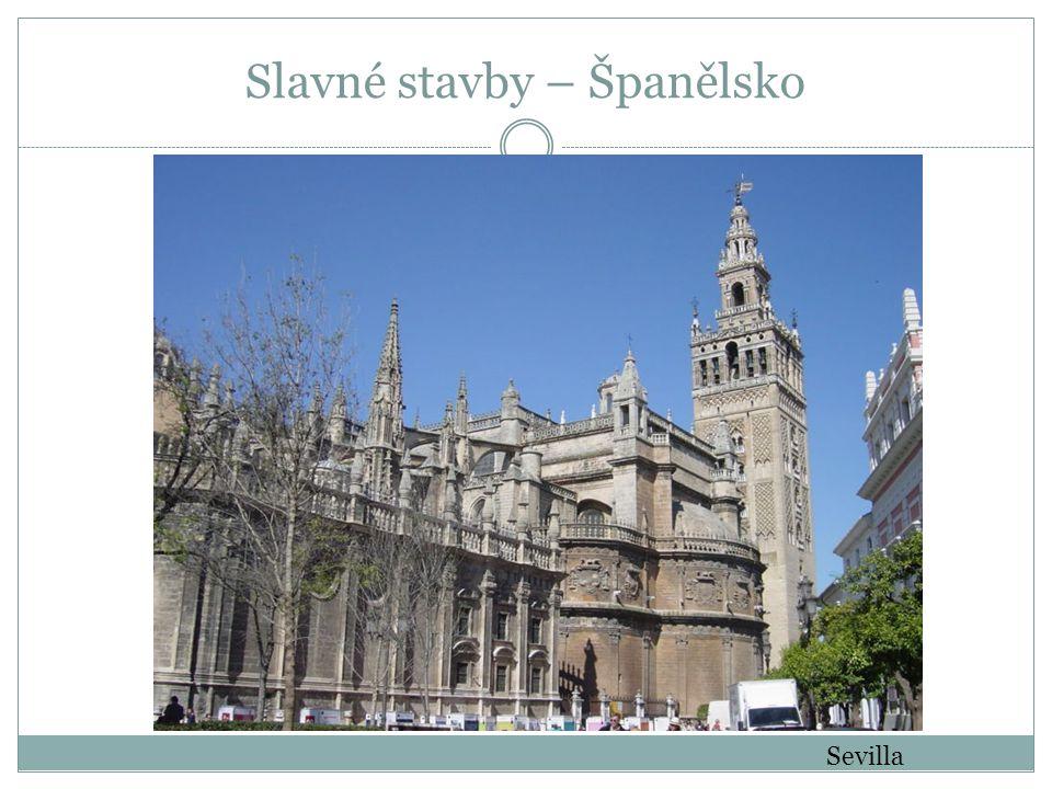 Slavné stavby – Španělsko
