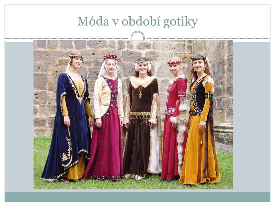 Móda v období gotiky