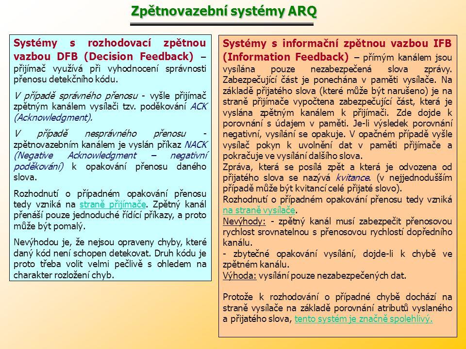 Zpětnovazební systémy ARQ