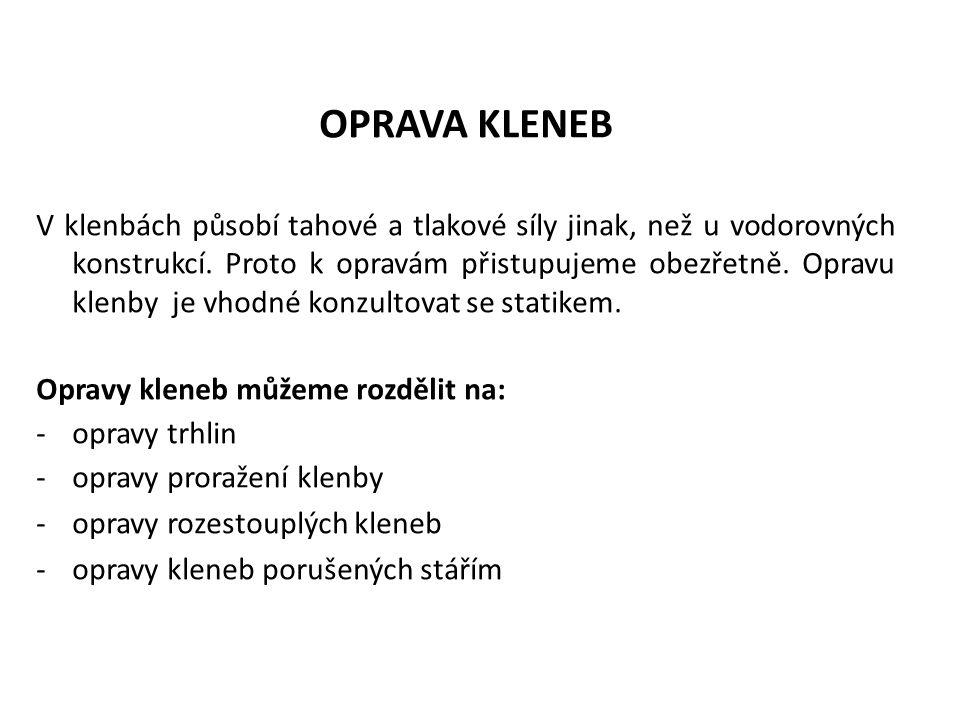 OPRAVA KLENEB