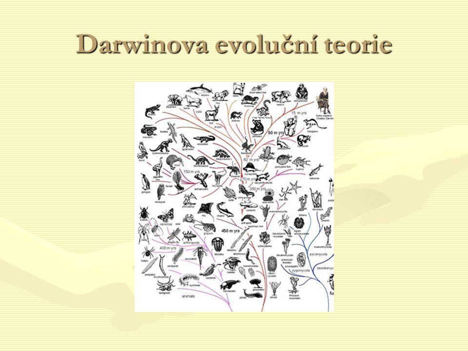 Darwinova evoluční teorie