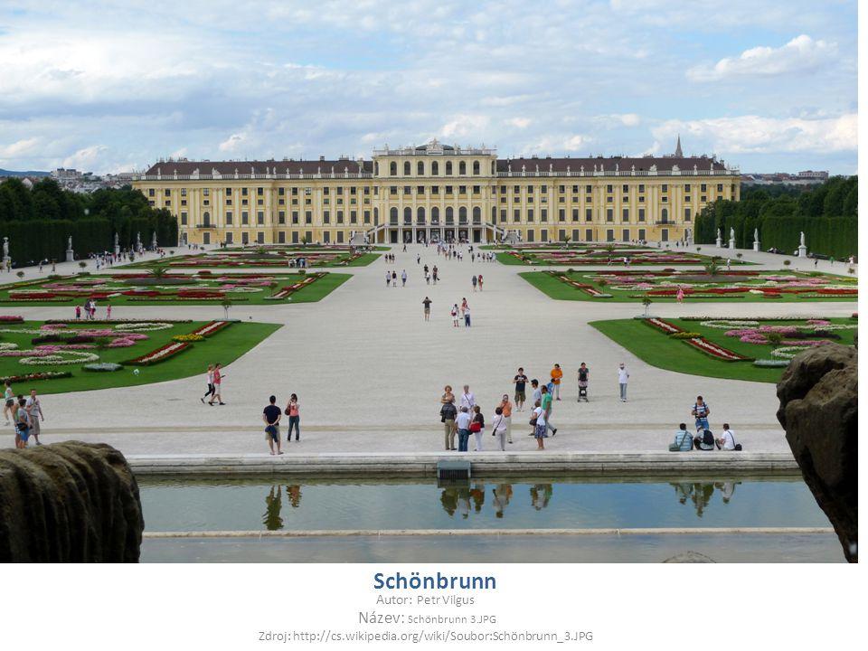 Zdroj: http://cs.wikipedia.org/wiki/Soubor:Schönbrunn_3.JPG