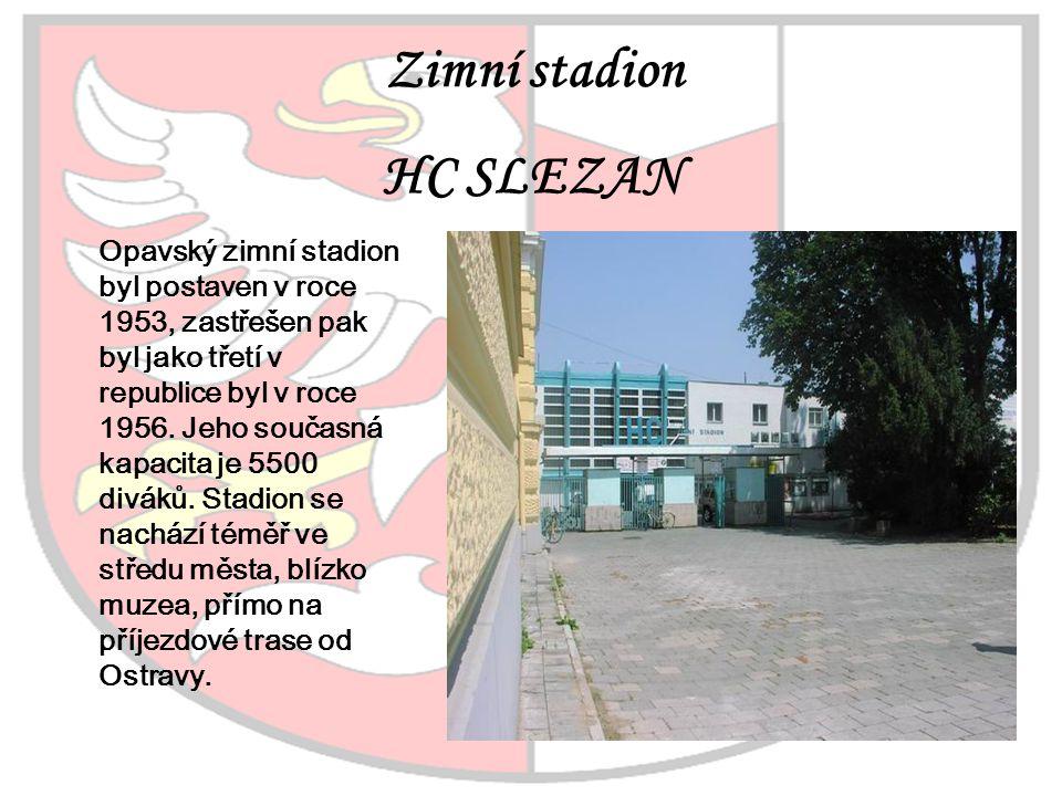 HC SLEZAN Zimní stadion