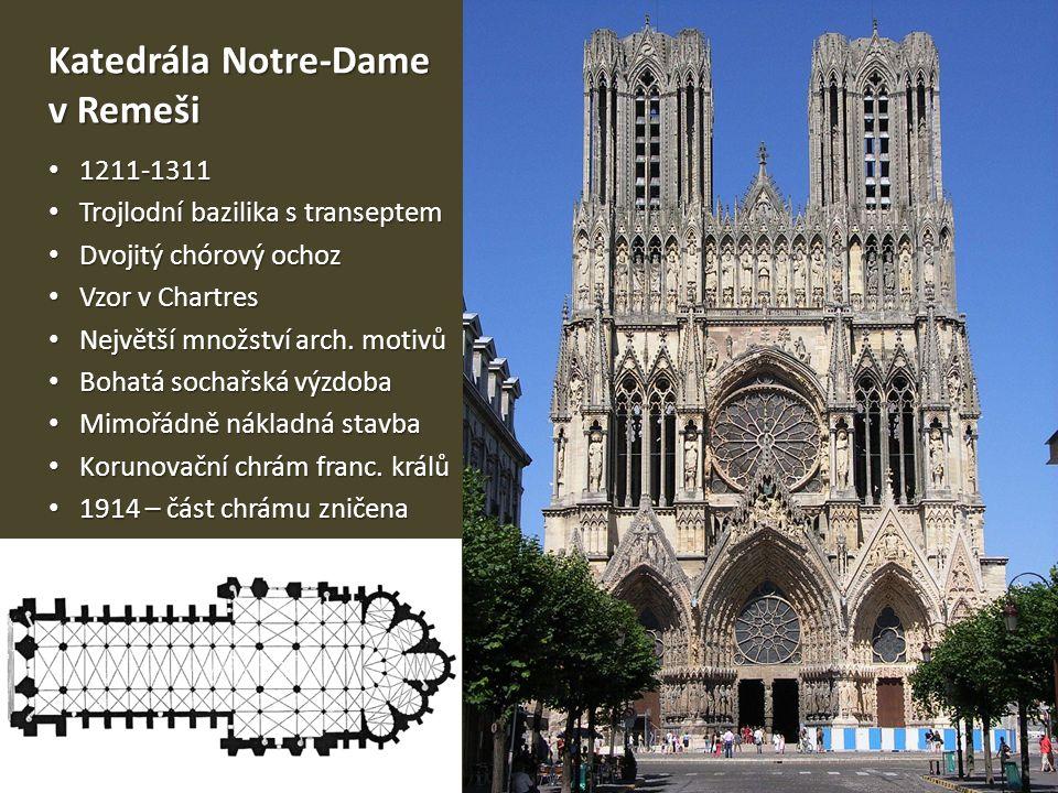 Katedrála Notre-Dame v Remeši