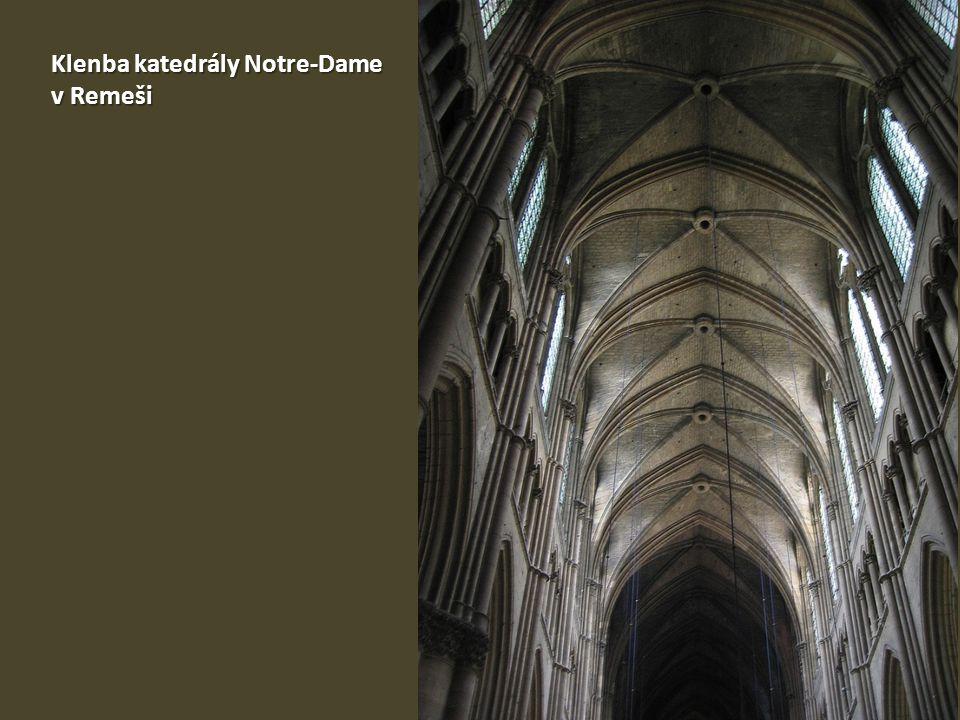 Klenba katedrály Notre-Dame