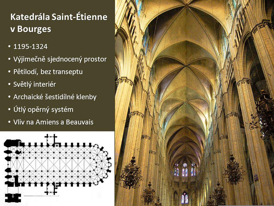 Katedrála Saint-Étienne v Bourges