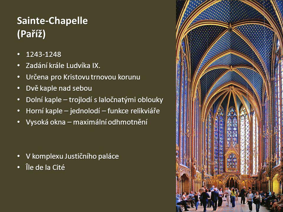 Sainte-Chapelle (Paříž)