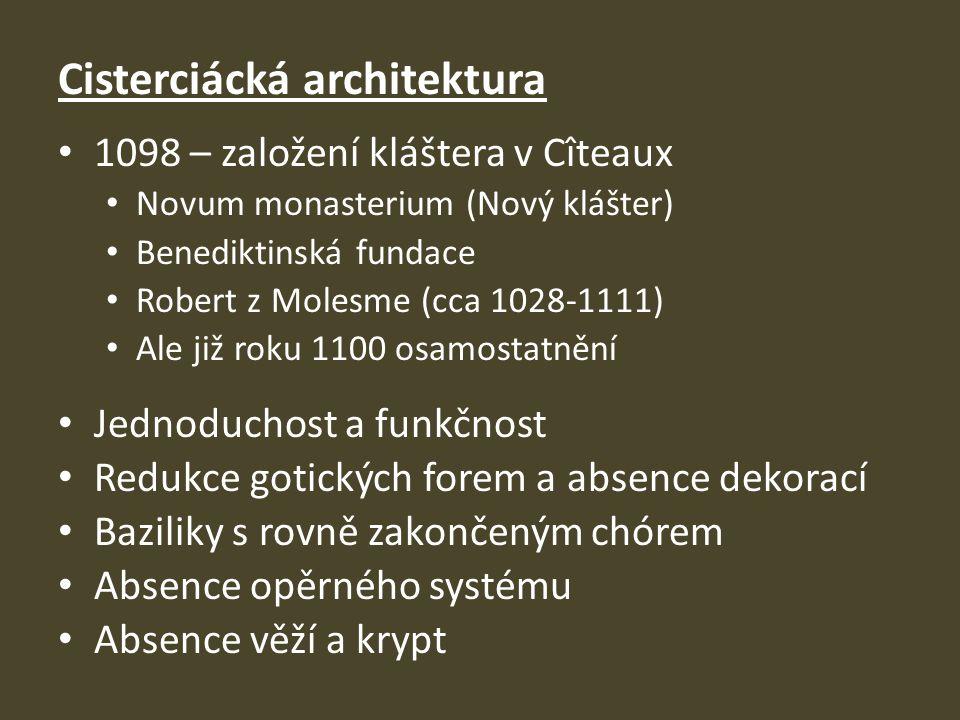 Cisterciácká architektura