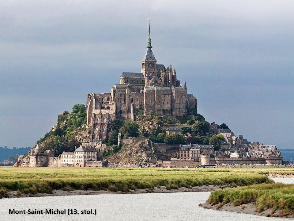 Mont-Saint-Michel (13. stol.)