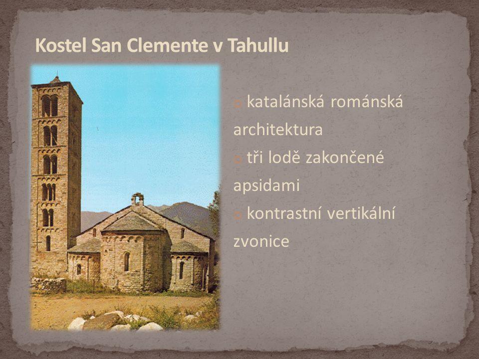 Kostel San Clemente v Tahullu