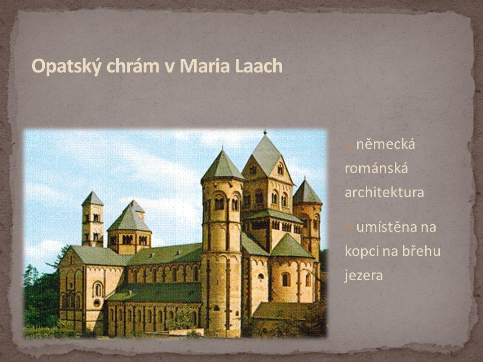 Opatský chrám v Maria Laach