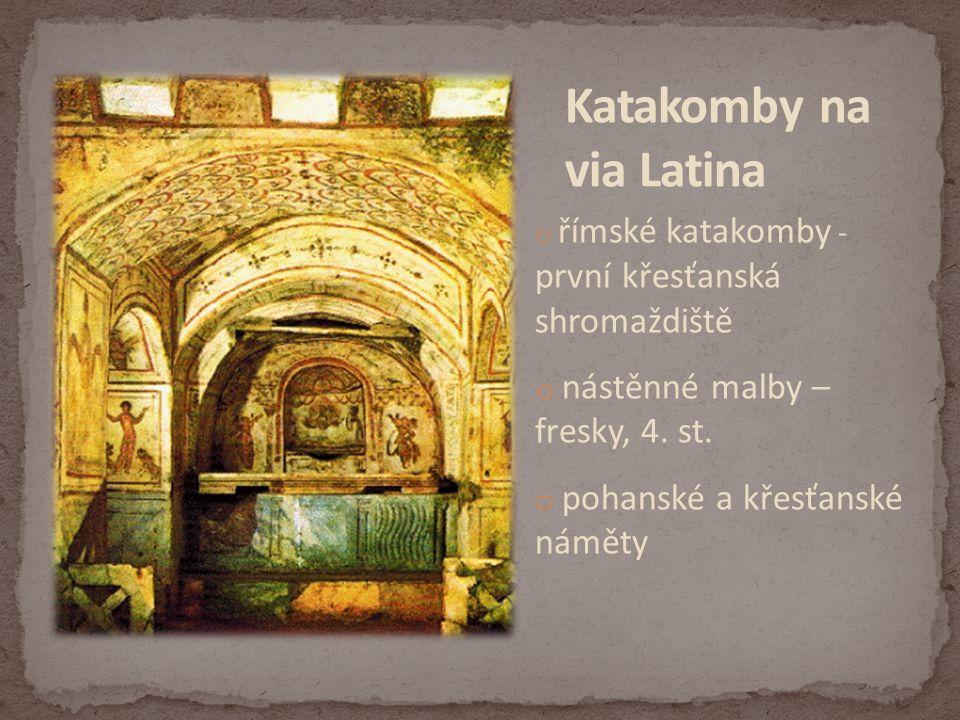 Katakomby na via Latina