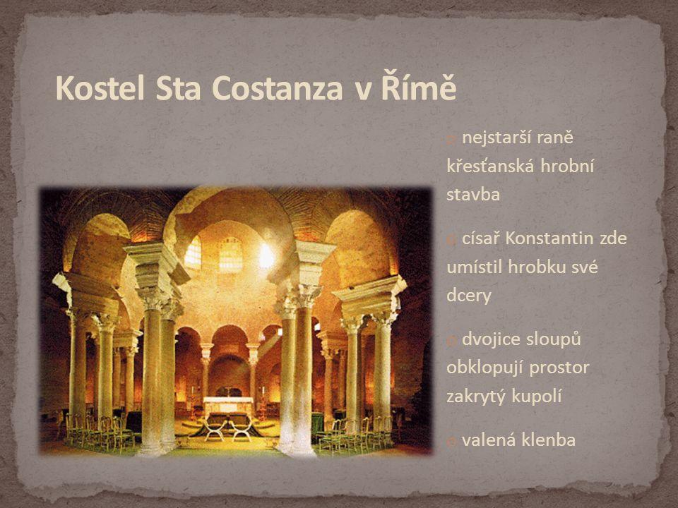 Kostel Sta Costanza v Římě