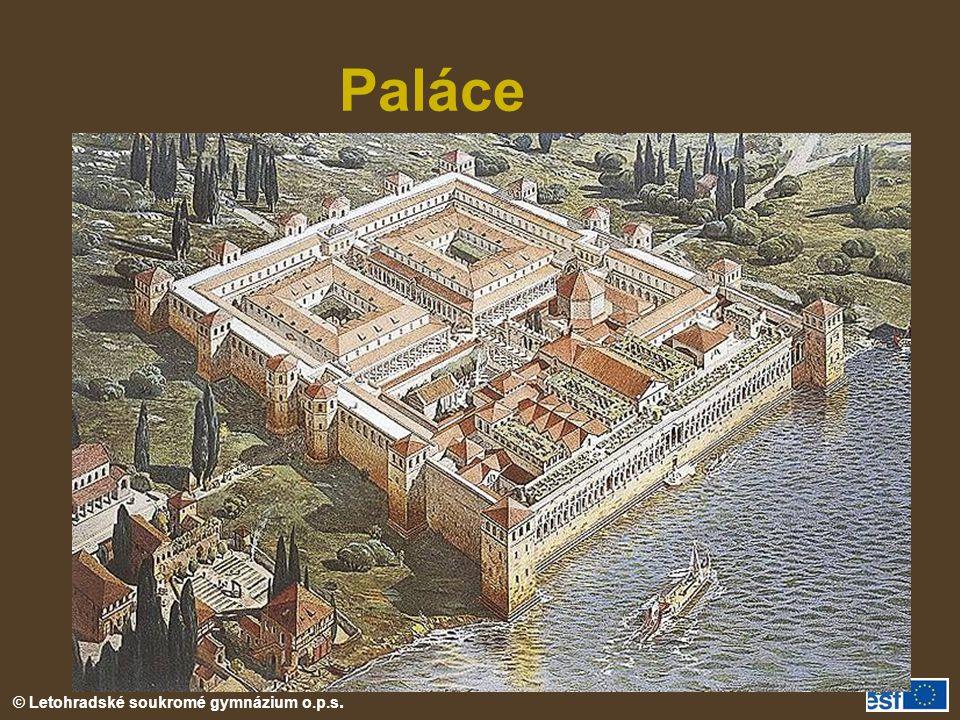 Paláce Diokleciánův palác ve Splitu (rekonstrukce)