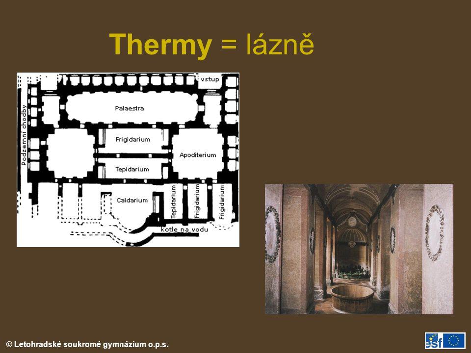 Thermy = lázně