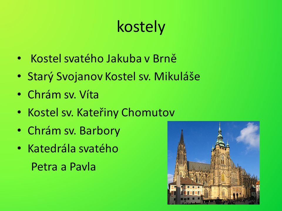 kostely Kostel svatého Jakuba v Brně
