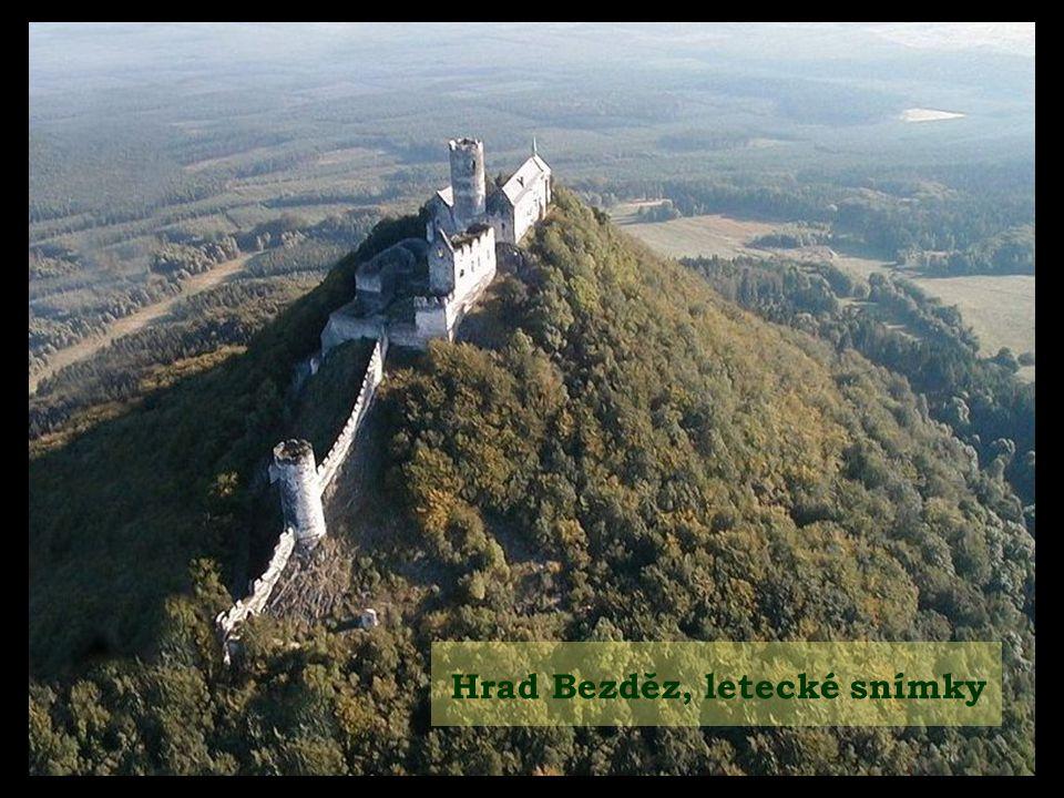 Hrad Bezděz, letecké snímky