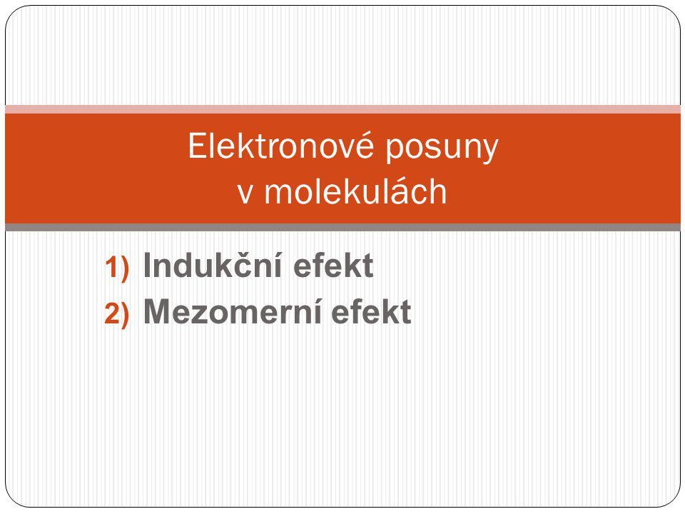 Elektronové posuny v molekulách