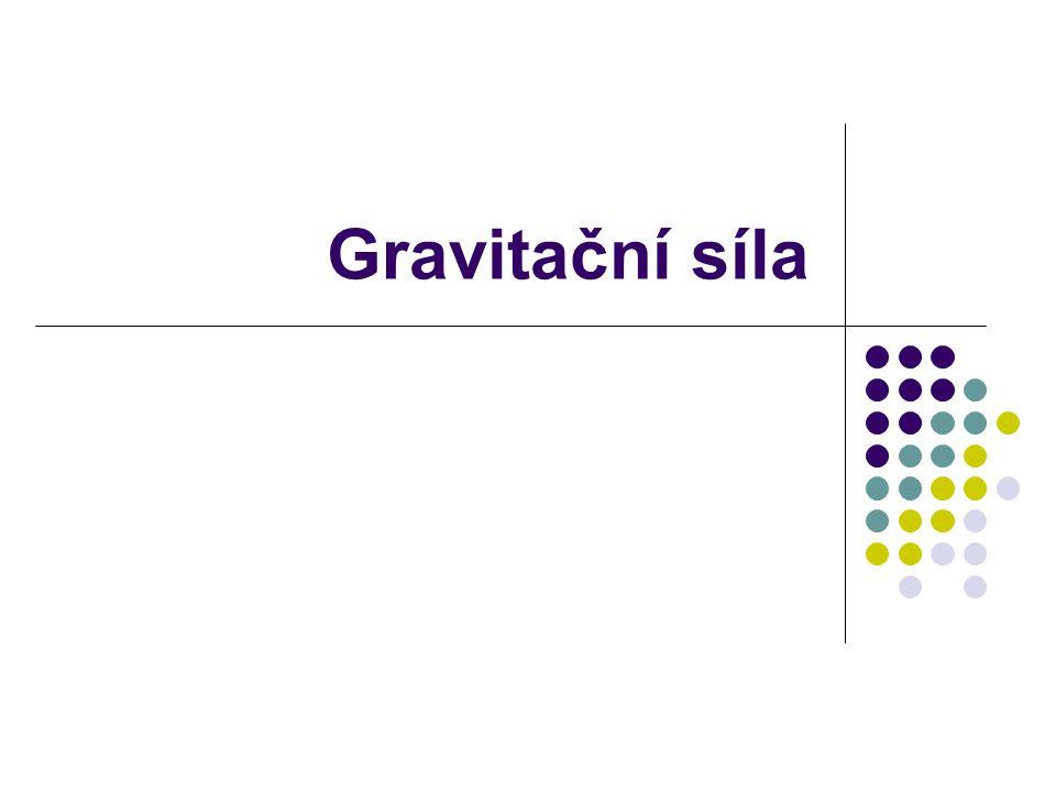 Gravitační síla
