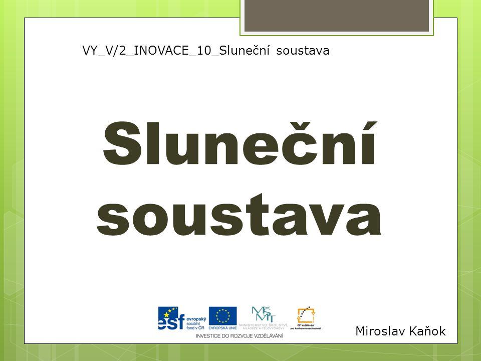 VY_V/2_INOVACE_10_Sluneční soustava