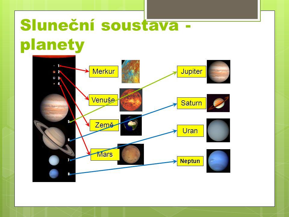 Sluneční soustava - planety