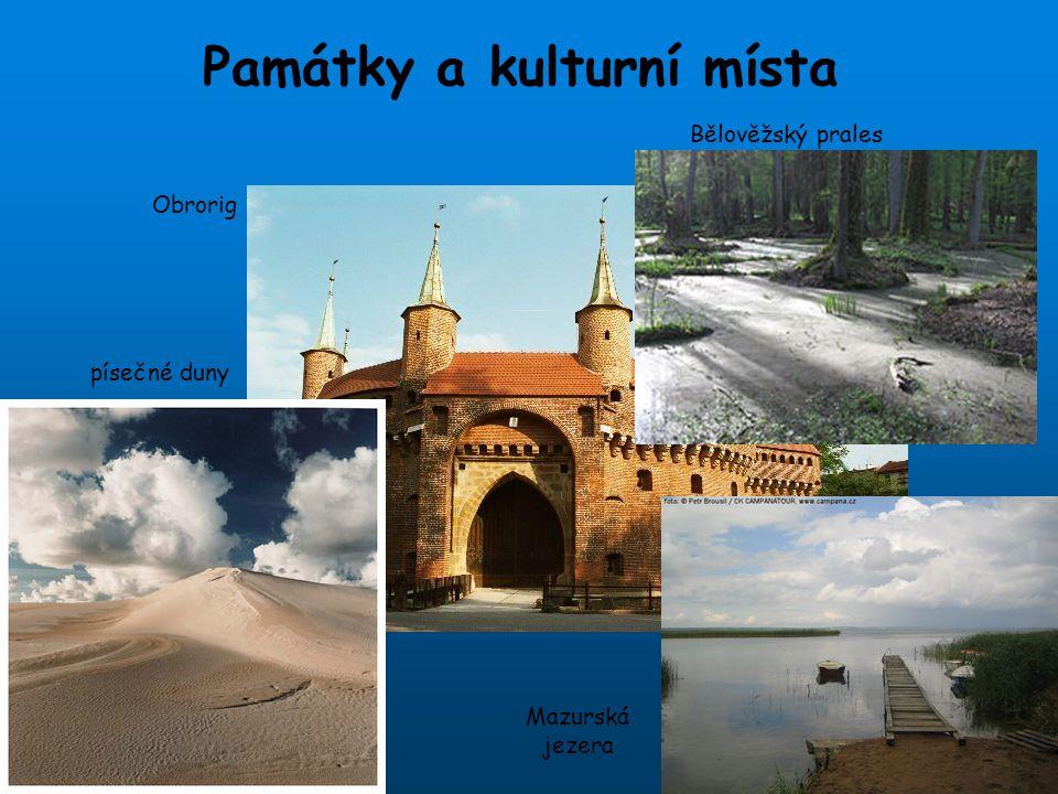 Památky a kulturní místa