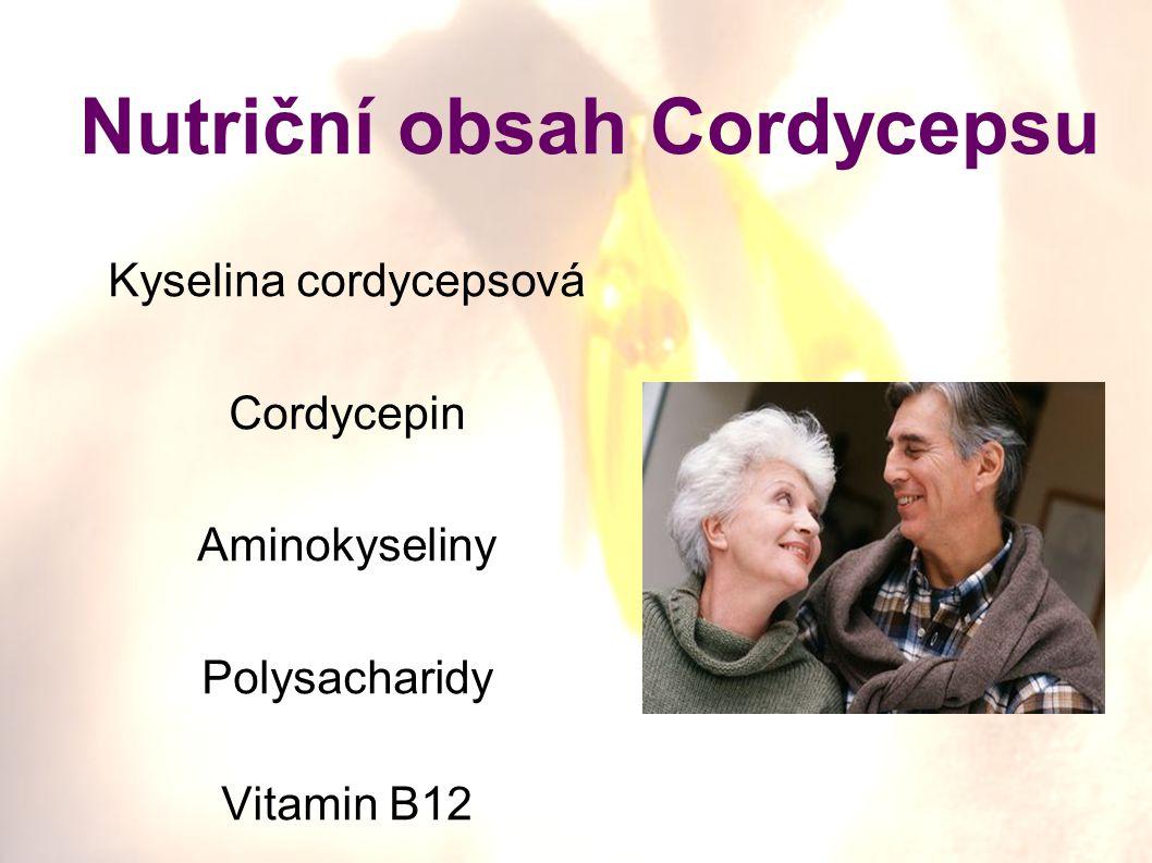 Nutriční obsah Cordycepsu