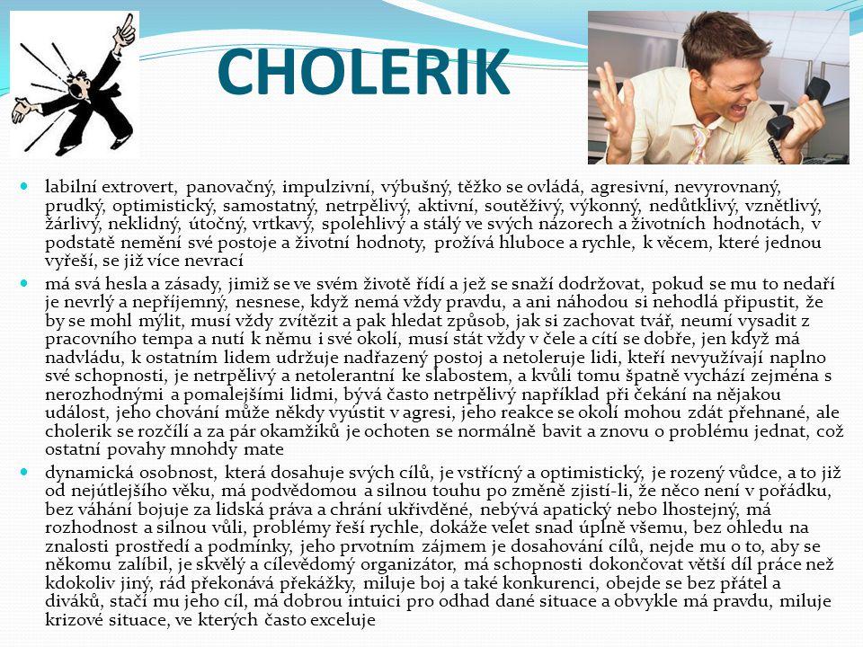 CHOLERIK