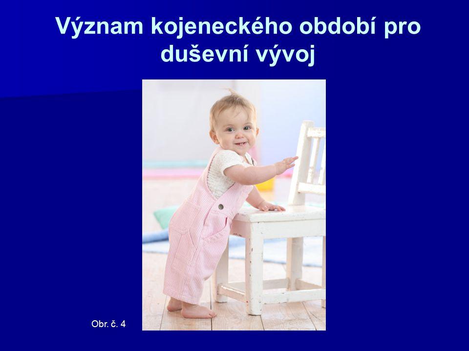 Význam kojeneckého období pro duševní vývoj