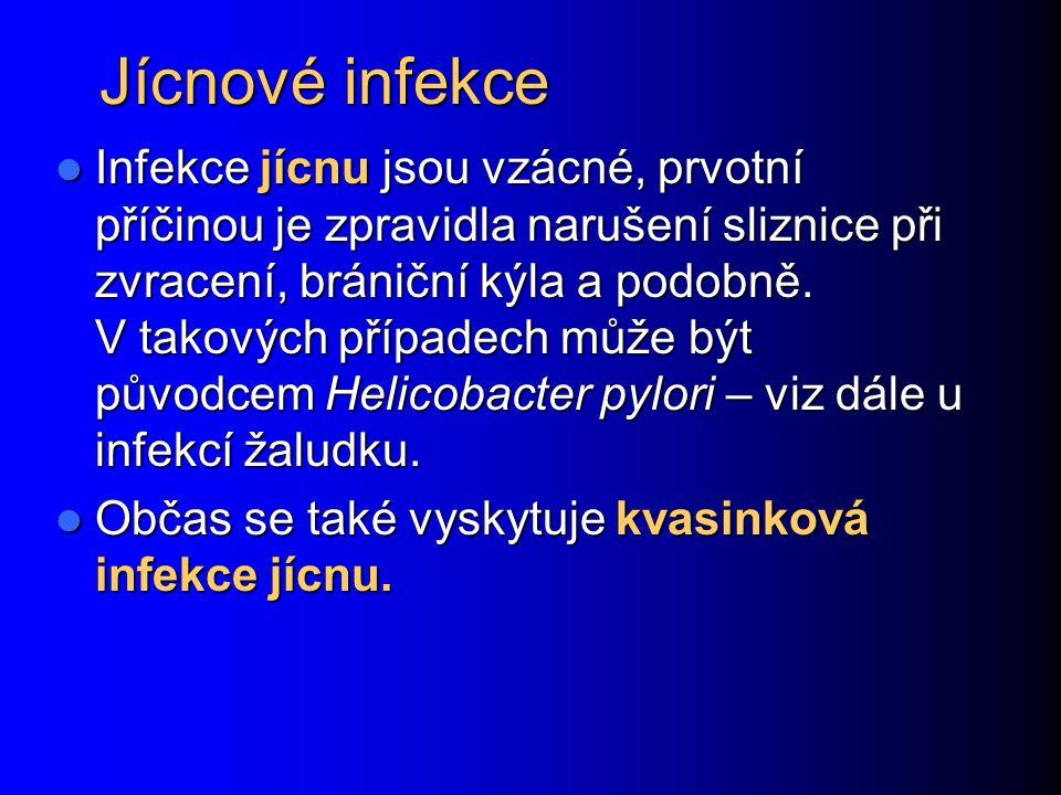 Jícnové infekce