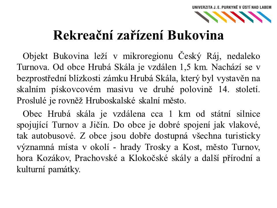 Rekreační zařízení Bukovina