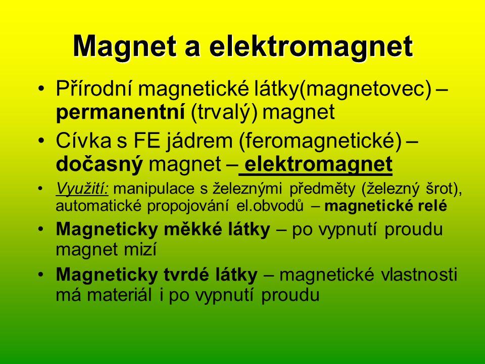 Magnet a elektromagnet
