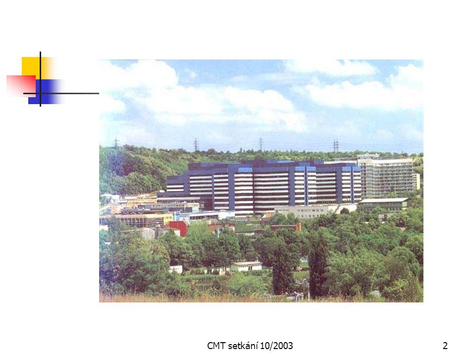 CMT setkání 10/2003