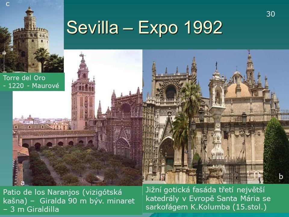 c Sevilla – Expo 1992. 30. Torre del Oro. - 1220 - Maurové. b. a.